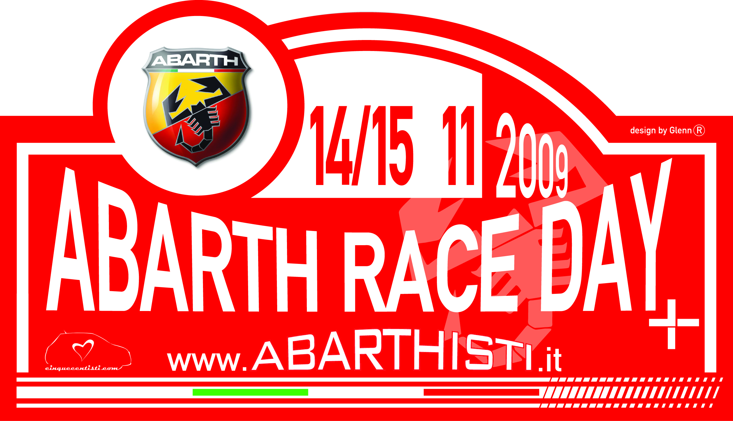 abarth race day