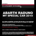 27 Marzo 2010: My Special Car 2010 con ABARTH