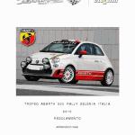 Trofeo Abarth 500 Rally: disponibile regolamento