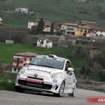 Trofeo Abarth 500 Rally-Selenia: al 1000 Miglia vince Vescovi