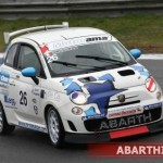 Trofeo Abarth 500 Selenia: a Misano Adriatico doppietta per Nicola Baldan