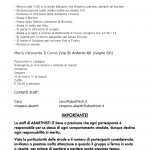 Volantino informativo per il raduno Stelvio Pass by ABARTHISTI