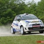Il Trofeo Abarth 500 Rally-Selenia al 44° Rally del Salento