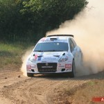 Rossetti e l'Abarth Grande Punto S2000 vincono il Bosphorus Rally in Turchia